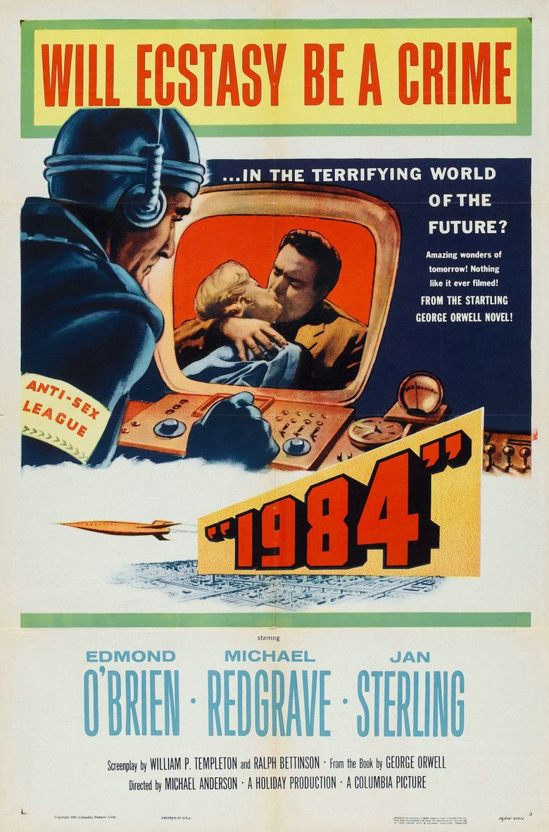 1984 (1956 film) movie poster