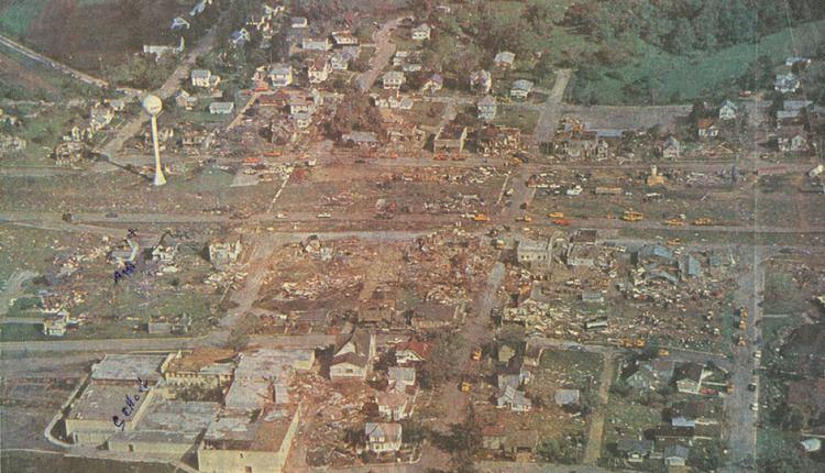1984 Barneveld tornado outbreak BARNEVELD Wisconsin June 8 1984 F5 tornado Ranked in some