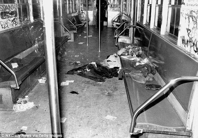 1984 New York City Subway shooting New York subway vigilante Bernie Goetz Daily Mail Online