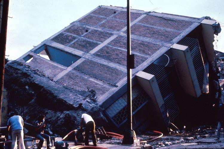 1985 Mexico City earthquake List of earthquakes in 1985 Wikipedia