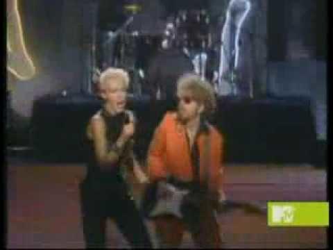 1985 MTV Video Music Awards Eurythmics Would I Lie To You live MTV Video Music Awards 1985