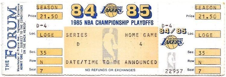 1985 NBA Playoffs