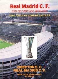 1985 UEFA Cup Final wwwczechsoccernetczobrazkyprogramECFinalUCF
