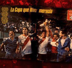 1986 Copa Libertadores Revista El Grfico