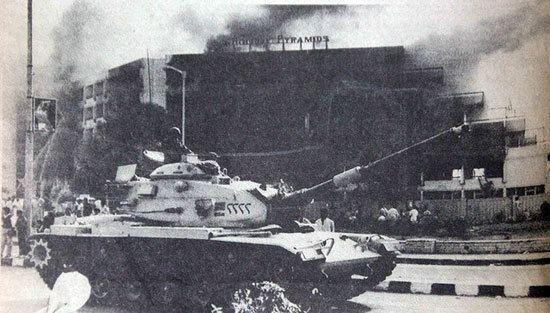 1986 Egyptian conscripts riot