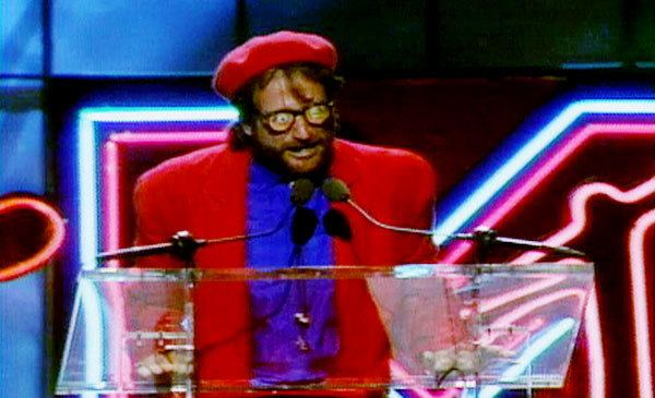 1986 MTV Video Music Awards Double A Street PHOTO Robin Williams at the 1986 VMAs
