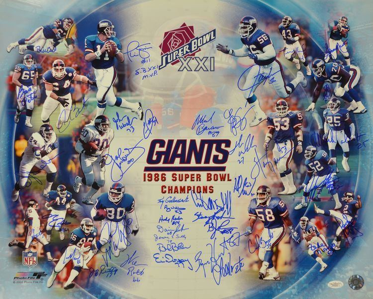 1986 New York Giants season httpsgoldinauctionscomItemImages0000022892a