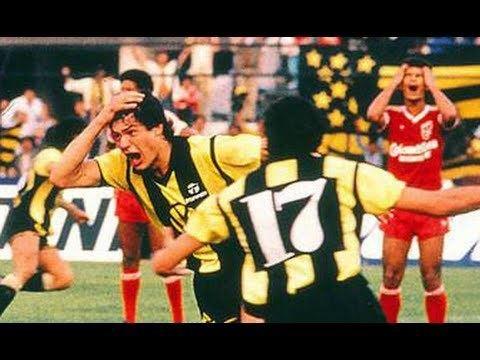 1987 Copa Libertadores Pearol vs Amrica de Cali Final Copa Libertadores 1987 YouTube