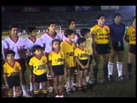 1987 Copa Libertadores Copa lIbertadores 1987 BarcelonaSol de America YouTube