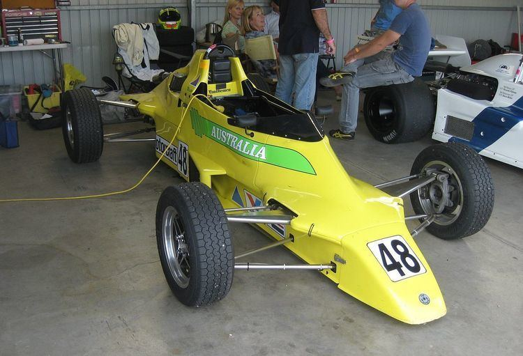 1987 Motorcraft Formula Ford Driver to Europe Series