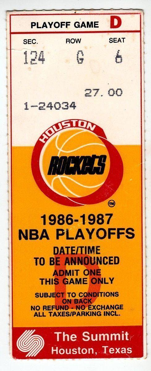 1987 NBA Playoffs