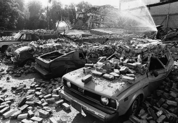 1987 Whittier Narrows earthquake 1000 images about earthquakes whittier and northridge on Pinterest
