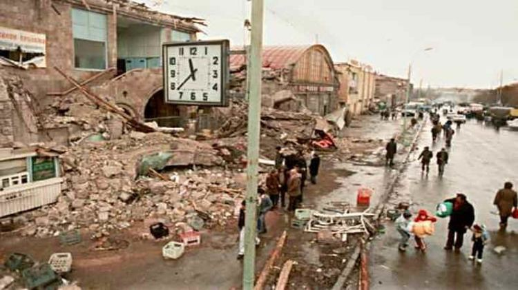 1988 Armenian earthquake NSSP