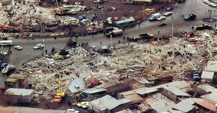 1988 Armenian earthquake 1988 Death toll rises in Armenian earthquake Armenian Online News
