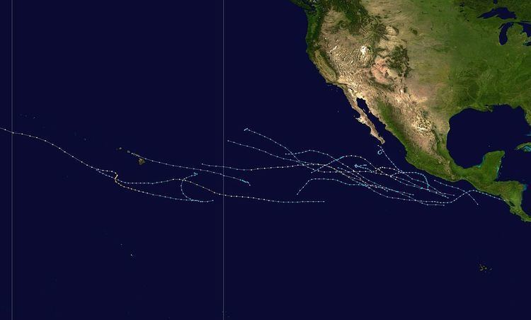 1988 Pacific hurricane season
