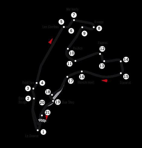 1989 Belgian motorcycle Grand Prix