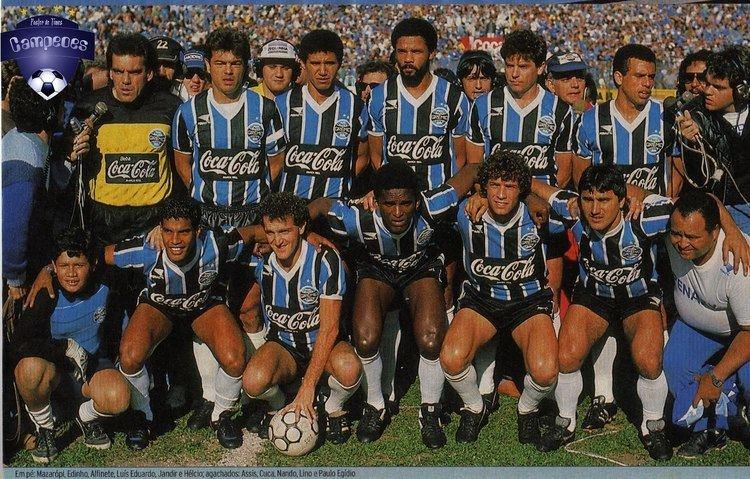 1989 Copa do Brasil Times Campees Grmio Campeo da Copa do Brasil 1989