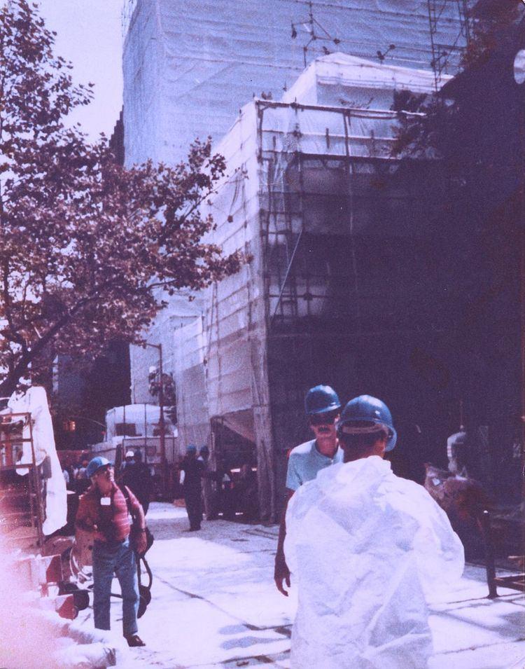 1989 Gramercy Park asbestos steam explosion