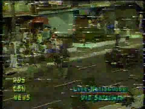 1989 Philippine coup attempt News coverage of the 1989 coup attempt 1 YouTube