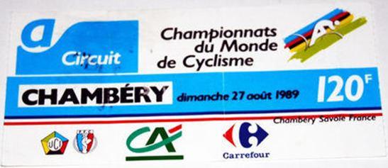 1989 UCI Road World Championships