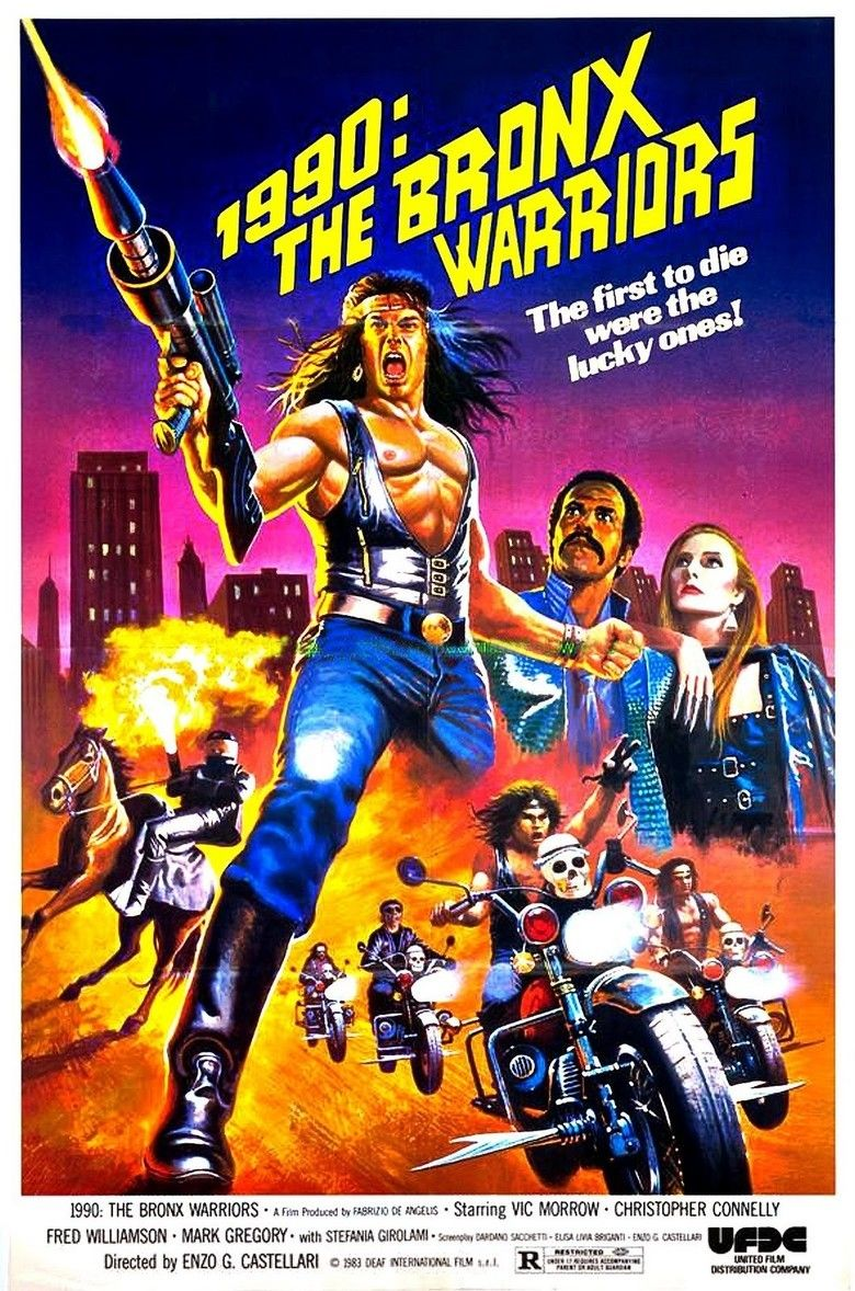 1990: The Bronx Warriors movie poster