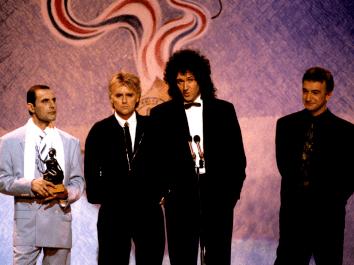 1990 Brit Awards 1990 Queen Photos Page 4