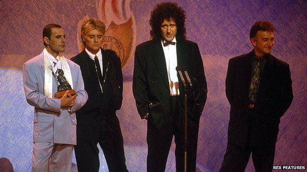 1990 Brit Awards Brit Awards A dozen lesserknown moments BBC News