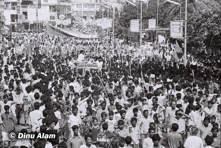 1990 Mass Uprising in Bangladesh