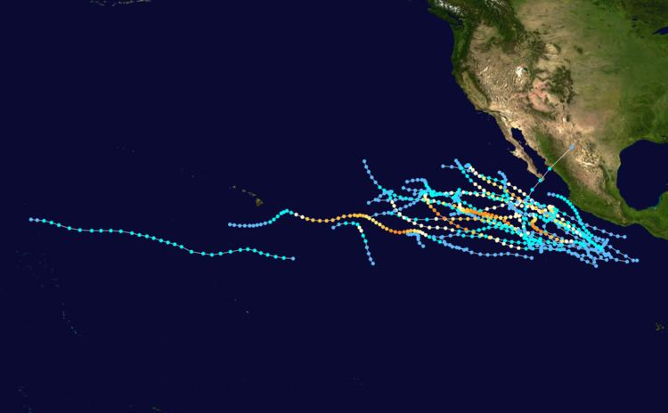 1990 Pacific hurricane season