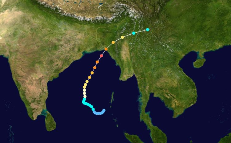 1991 Bangladesh cyclone File1991 Bangladesh cyclone trackpng Wikimedia Commons