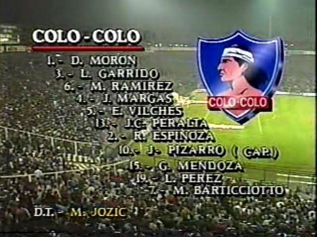 1991 Copa Libertadores Copa Libertadores 1991 Final Colo Colo Olimpia Vuelta Flickr