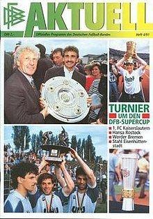 1991 DFB-Supercup httpsuploadwikimediaorgwikipediaenthumbd