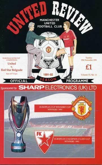 1991 European Super Cup wwwmufcinfocommanupagfinalsfinalappearences