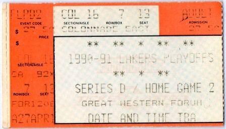 1991 NBA Playoffs