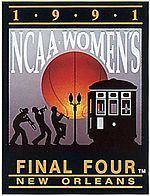 1991 NCAA Division I Women's Basketball Tournament uploadwikimediaorgwikipediaenthumb3381991W