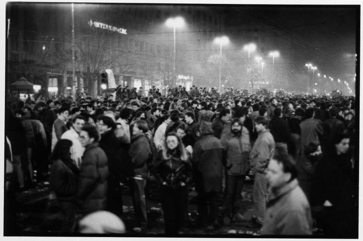 1991 protests in Belgrade