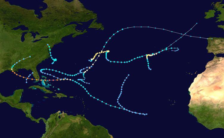 1992 Atlantic hurricane season