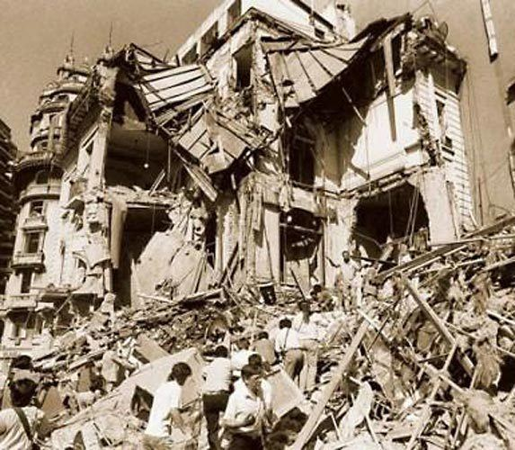 1992 attack on Israeli embassy in Buenos Aires Today in History 17 March 1992 Truck Bomb Delivered to Israeli