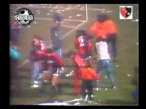 1992 Copa Libertadores Newells 4 vs San Lorenzo 0 4 final Copa Libertadores 1992 Era