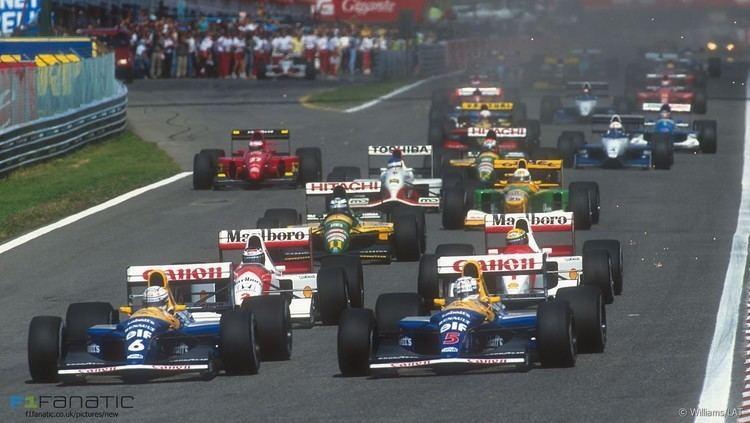 1992 Formula One season wwwf1fanaticcoukwpcontentuploads201601sta