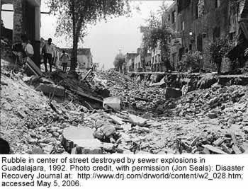 1992 Guadalajara explosions Claritas 1992 explosion in Guadalajara
