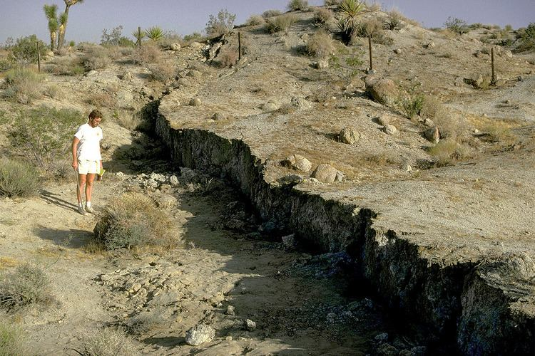 1992 Landers earthquake Surface faulting associated with the 1992 Landers earthqua Flickr