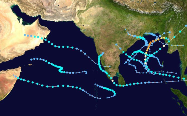 1992 North Indian Ocean cyclone season