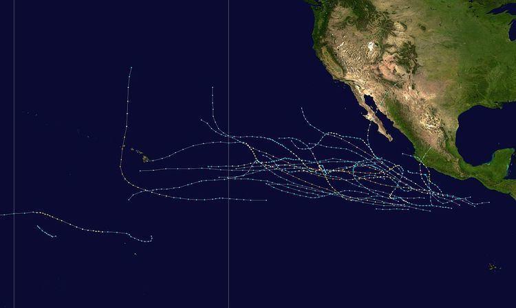 1992 Pacific hurricane season