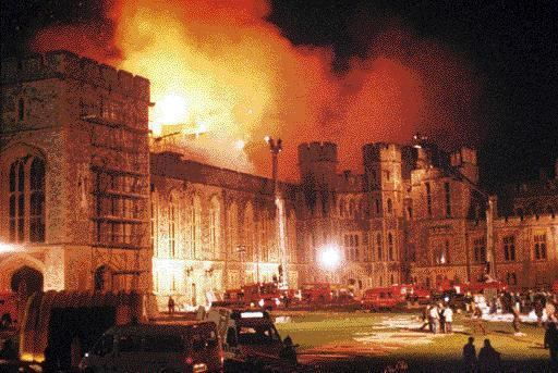 1992 Windsor Castle fire The 20th Anniversary of the Windsor Castle Fire Carolyn Harris