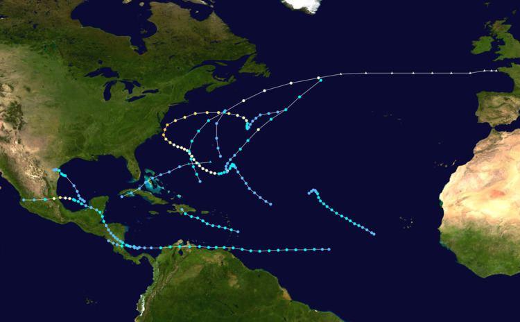 1993 Atlantic hurricane season