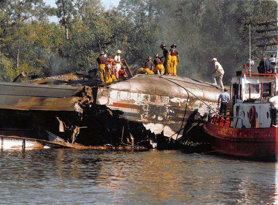 1993 Big Bayou Canot train wreck Pinterest The world39s catalog of ideas