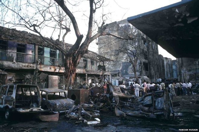 1993 Bombay bombings In pictures 1993 Mumbai blasts BBC News