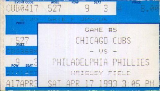 1993 Chicago Cubs season