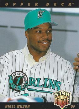 1993 Florida Marlins season The Trading Card Database 1993 Upper Deck Florida Marlins Baseball